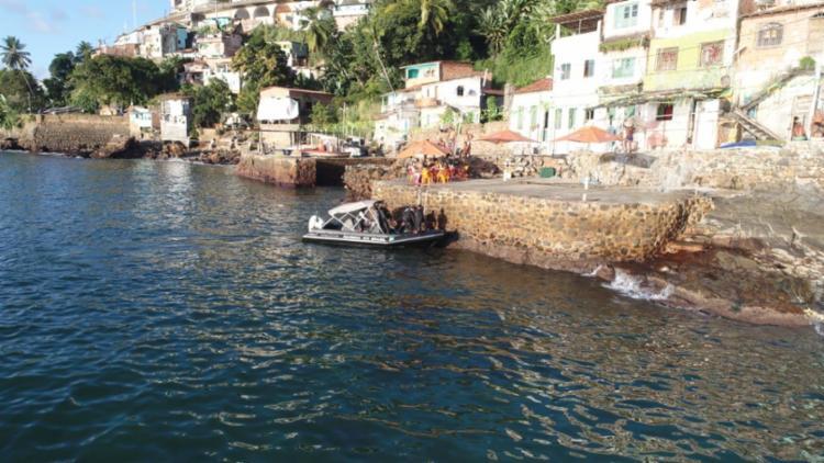 Fuzileiros Navais monitoraram possíveis fugas pelo mar