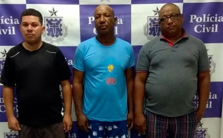 Homens foram capturados em bloqueios montados na avenida Suburbana e no Lobato - Foto: Divulgação | SSP-BA