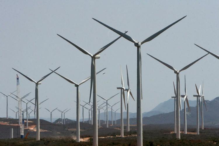 Parque de energia eólica no município baiano de Brotas de Macaúbas - Foto: Alberto Coutinho | Secom