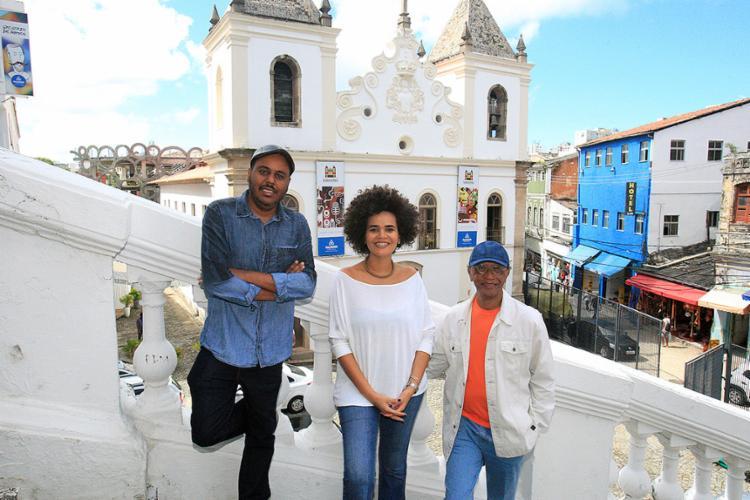 Paulo, Ítala e Hélio são idealizadores do projeto Vale do Dendê - Foto: Luciano da Matta l Ag. A TARDE