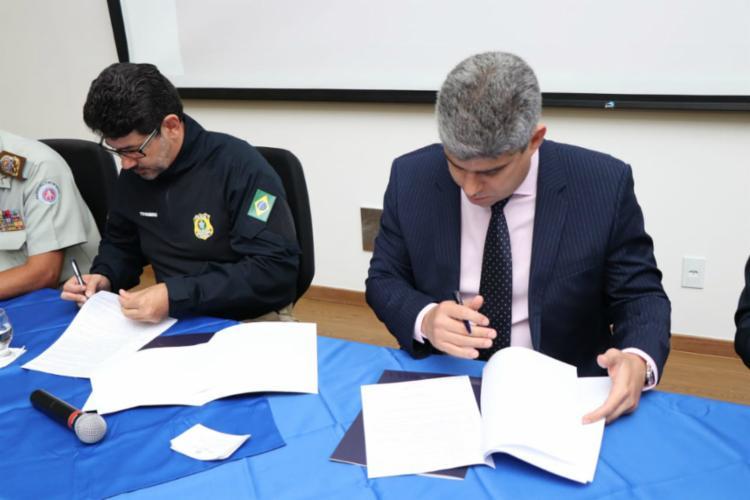 Projeto visa combater criminalidade no estado - Foto: Divulgação | Polícia Rodoviária Federal