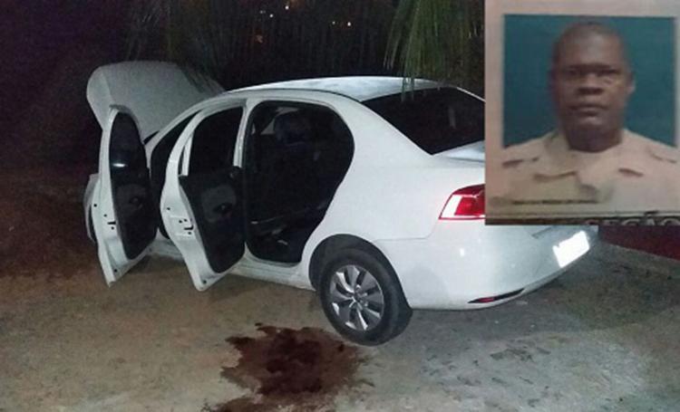 Cabo da PM foi baleado após assaltantes reagirem a abordagem a polícia - Foto: Reprodução