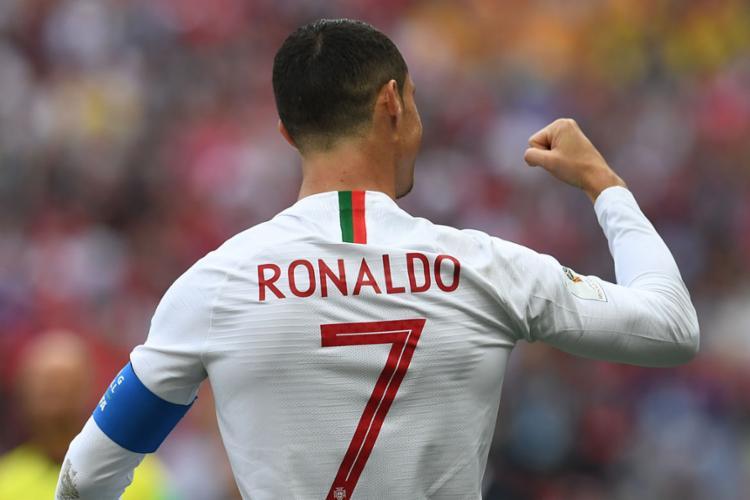 Cristiano Ronaldo se tornou o maior artilheiro de seleções europeias com 85 gols - Foto: Francisco Leong   AFP