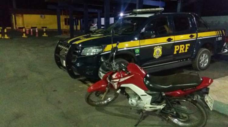 O veículo havia sido roubado em Luiz Eduardo Magalhães - Foto: Divulgação | PRF-BA