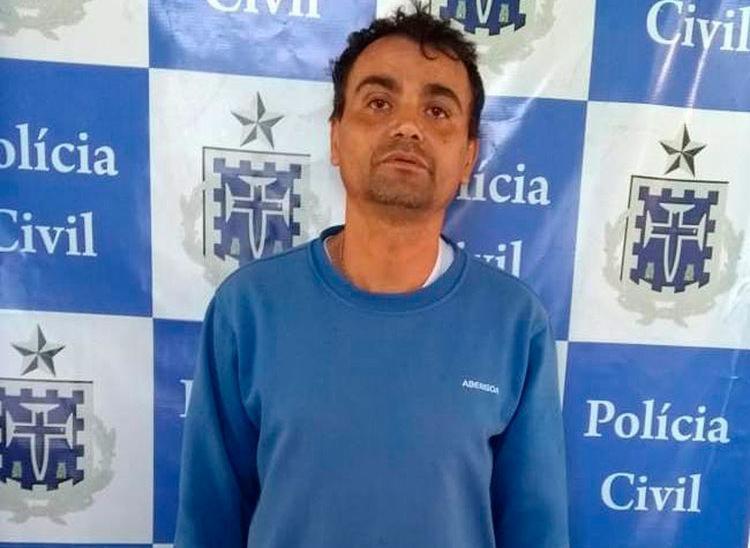 Carlito Sousa teve o mandado de prisão temporária cumprido - Foto: Divulgação | Polícia Civil