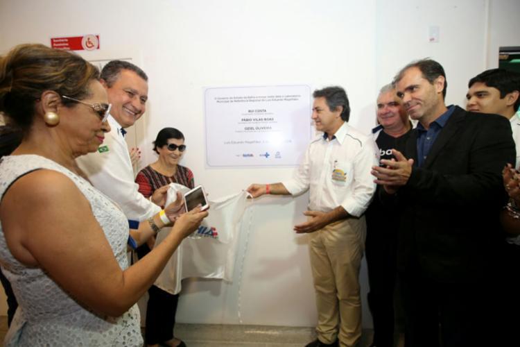 Laboratório Municipal de Referência Regional irá atender 14 municípios da região - Foto: Mateus Pereira | GOVBA