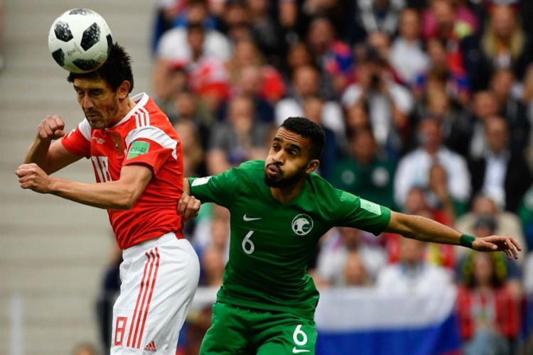 Rússia e Arábia Saudita fazem o primeiro jogo da Copa - Foto: AFP