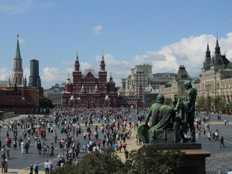 Praça Vermelha, em Moscou, um dos principais pontos turísticos da Rússia - Foto: Xando Pereira