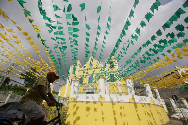 Santo Amaro já está pronta para as festas juninas - Foto: Raul Spinassé l Ag. A TARDE