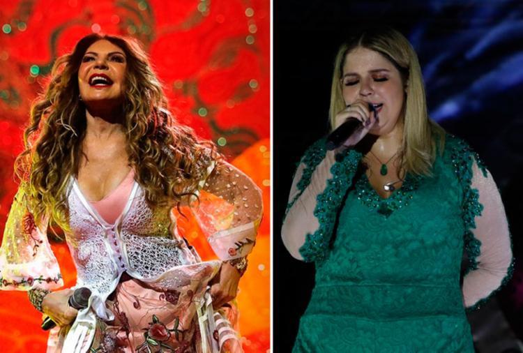 Elba se apresenta no Terreiro de Jesus e Marília faz show em Paripe - Foto: Divulgação e Fred Pontes