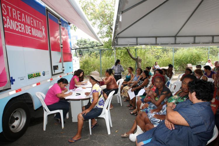 A unidade móvel estará estacionada na Praça Fenelon Santos, entre os dias 15 e 20 deste mês, sempre das 7 às 18h - Foto: Divulgação