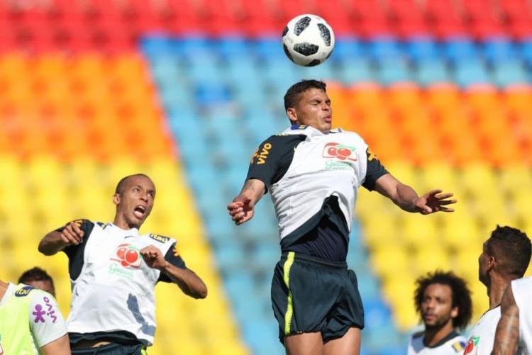 Jogadores treinam para partida decisiva de classificação ás oitavas de final - Foto: Lucas Figueiredo   CBF