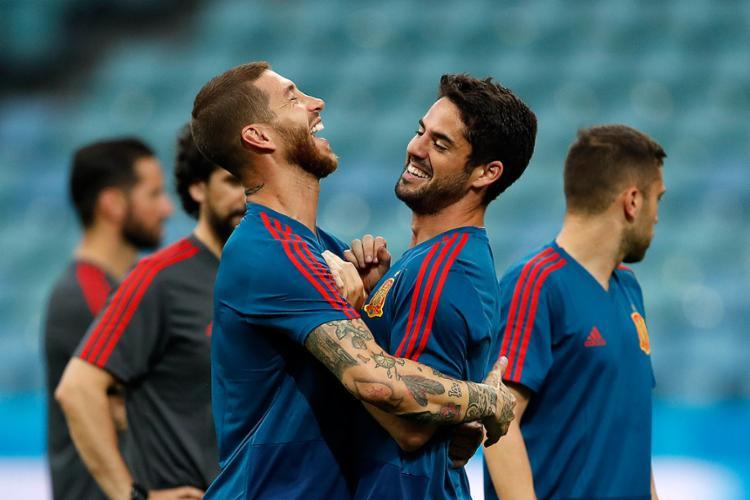 Time espanhol conta com vários jogadores de elite - Foto: Odd Andersen l AFP