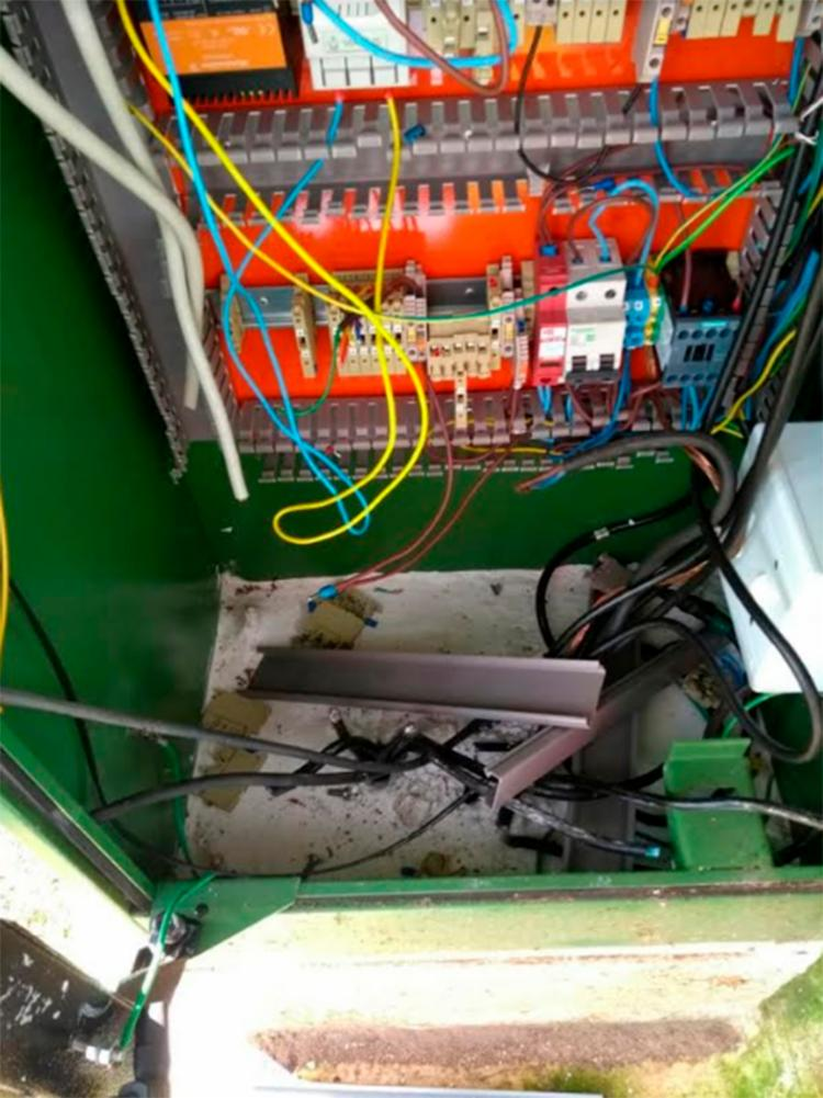 Equipamento teve cabos e peças roubadas - Foto: Divulgação | SECOM