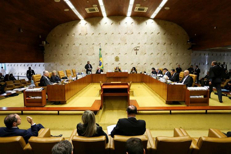 Até agora, quatro ministros já se manifestaram a favor da possibilidade de condução coercitiva de investigados para interrogatórios - Foto: Marcelo Camargo | Agência Brasil