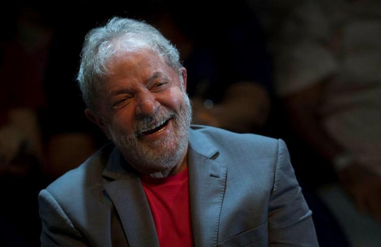 Lula está preso em Curitiba desde o dia 7 de abril - Foto: AFP PHOTO   Mauro Pimentel