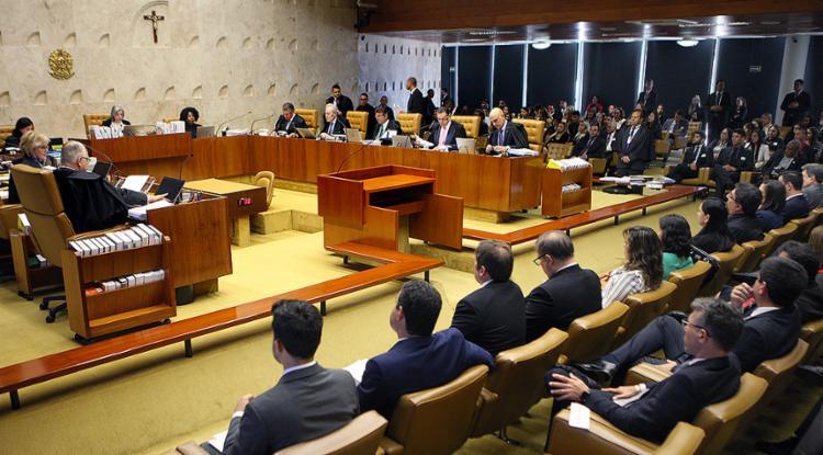 A ministra Cármen Lúcia entendeu que o decreto não tratou do direito de greve - Foto: Nelson Jr. l SCO l STF