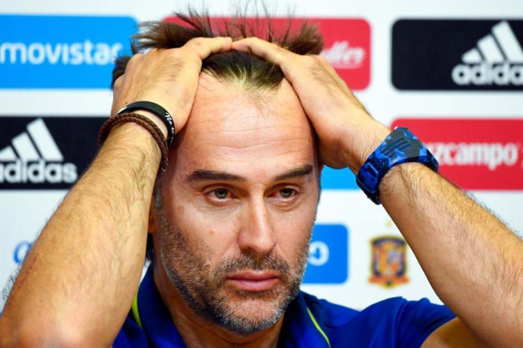 Julen Lopetegui anunciou que irá comandar o time do Real Madrid - Foto: Gabriel Bouys | AFP