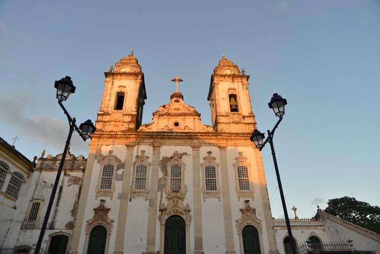 Rua da Igreja de Santo Antônio do Carmo será interditada neste domingo - Foto: Shirley Stolze | Ag. A Tarde