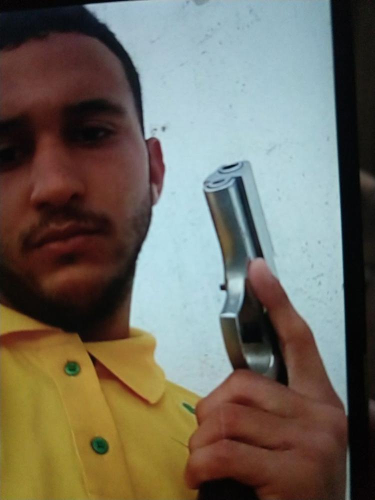 Cássio é apontado pela polícia como líder do tráfico em São Marcos - Foto: Divulgação | SSP-BA