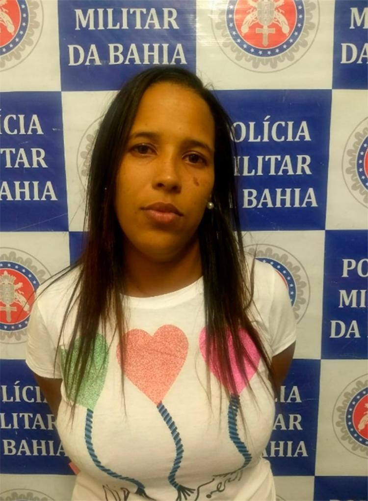 Márcia Josilaine foi encaminhada para a Delegacia Territorial de Paulo Afonso - Foto: Divulgação | SSP-BA