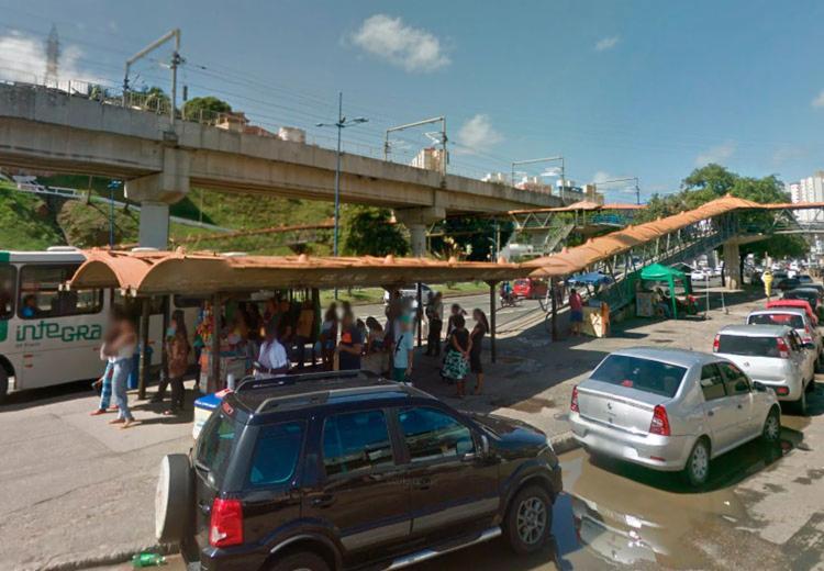 Polícia Militar foi acionada por populares que estavam na região - Foto: Reprodução | Google Maps