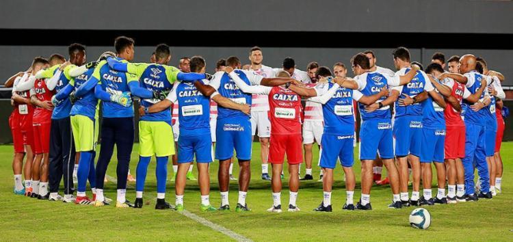 Concentração e liderança serão fundamentais - Foto: Felipe Oliveira l EC Bahia l Divulgação