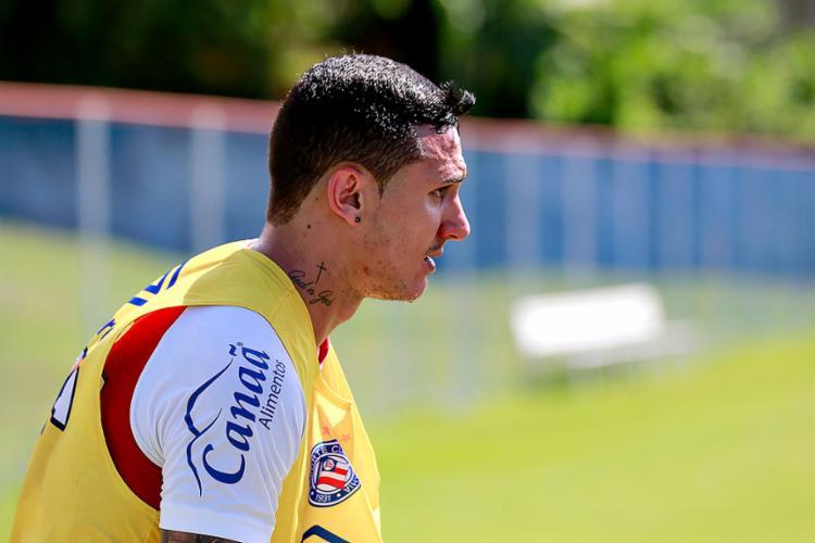 Vinicius não fez gol nem deu assistência no Brasileirão - Foto: Felipe Oliveira l EC Bahia