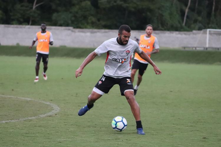 O atleta está no Rubro-Negro desde 2012 - Foto: Maurícia da Matta   EC Vitória