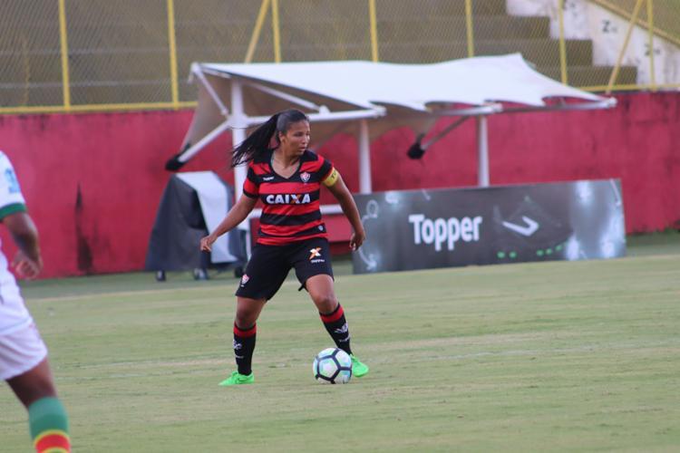 Isabela está no clube desde a temporada passada - Foto: Maurícia da Matta | EC Vitória