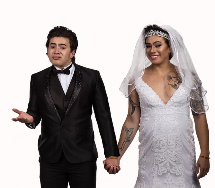 Whindersson se inspira em seu casamento com Luísa Sonza para poder criar o roteiro desta comédia - Foto: Beto Moraes   Divulgação