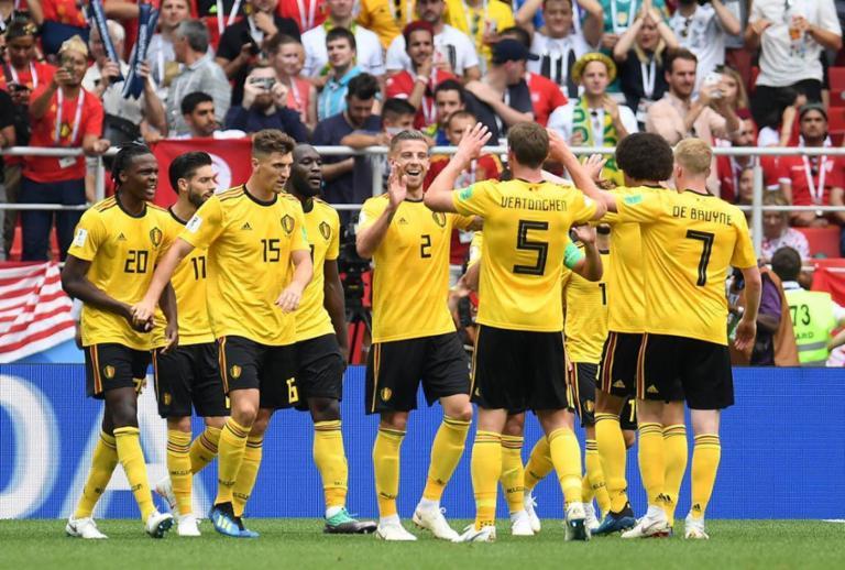 Bélgica goleia Tunísia e fica perto de vaga nas oitavas de final