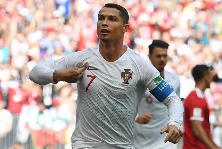 CR7 marca de novo, Portugal bate Marrocos e encaminha classificação