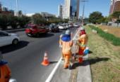 Alterações no trânsito da avenida ACM passam a valer a partir desta quarta | Foto: Luciano da Matta | Ag. A TARDE