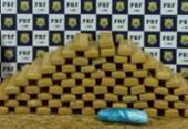 Mulher é detida com 54 quilos de drogas em Vitória da Conquista | Foto: Reprodução | PRF