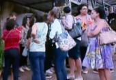 Em greve, educadores da rede municipal realizam ato em Salvador | Foto: Reprodução | TV Record