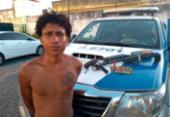 Revólver fabricado na Argentina é encontrado em Feira de Santana | Foto: Divulgação | SSP