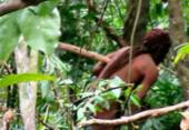 Funai divulga imagens de índio isolado na Amazônia | Foto: Acervo l Funai