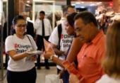 Justiça do Trabalho faz ação de conscientização em shopping | Foto: Raul Spinassé l Ag. A TARDE