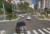 Falta de energia em semáforos complica trânsito no cruzamento da Lucaia | Foto: Reprodução | Google Maps