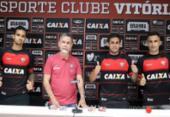 Novos contratados do Vitória são apresentados pelo presidente | Foto: Maurícia da Matta | EC Vitória
