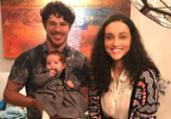 Loreto e Débora Nascimento comemoram aniversário da filha | Reprodução