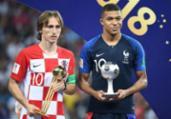 Luka Modric é eleito melhor jogador da Copa do Mundo | Franck Fife | AFP