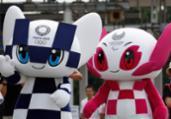 Mascotes dos Jogos de Tóquio-2020 têm seus nomes revelados   Issei Kato   AFP