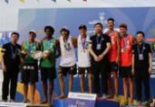 Brasileiros perdem em disputa no Mundial de vôlei de praia   Divulgação   FIVB