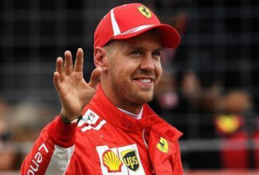 Vettel quebra recorde e garante a pole em Hockenheim; Hamilton não passa do Q2   Christof Stache l AFP