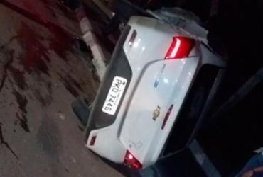 Motorista fica ferido após carro capotar na região do aeroporto | Divugação