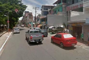 Pedestre é atropelado após colisão entre carro e caminhão no Rio Vermelho | Reprodução | Google Maps