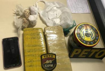 Dois homens e uma mulher são presos com drogas em Feira de Santana | Divulgação | SSP-BA