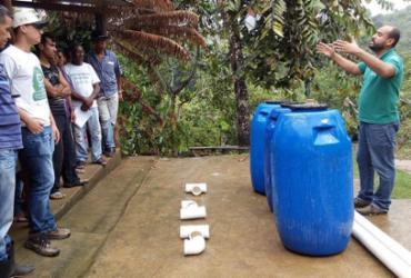 Fossas sépticas ecológicas estão sendo implantadas no Baixo Sul da Bahia